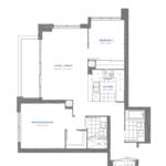 Pinnacle Toronto East - Residence 27 - East Tower Floorplan