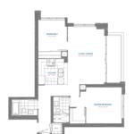 Pinnacle Toronto East - Residence 29 - East Tower Floorplan