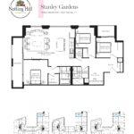 Notting Hill Condos - Stanley Gardens - Floorplan