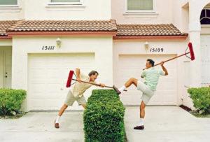 fighting neighbors
