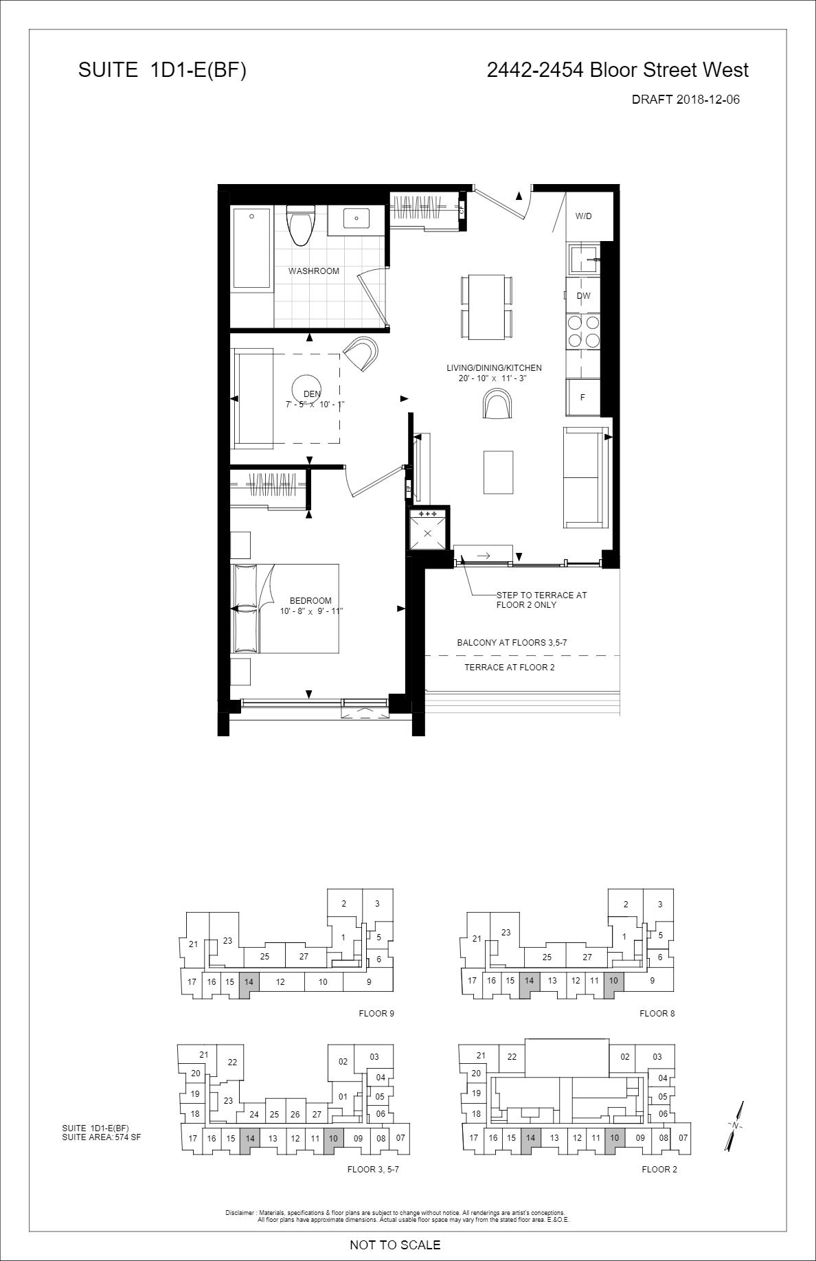 Bijou On Bloor Condos Price Lists Floor Plans Precondo