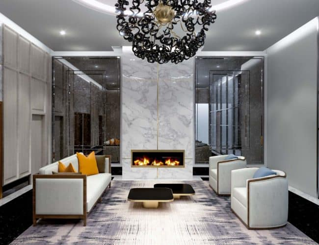 Bijou on Bloor Condos - Lobby - Interior Render