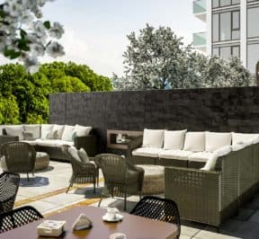 Bijou on Bloor Condos - Outdoor Terrace - Exterior Render