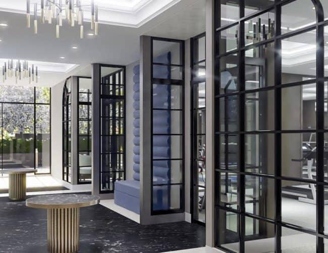 Bijou on Bloor - Entrance - Interior Render
