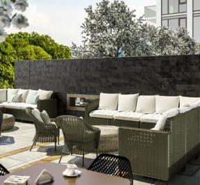 Bijou on Bloor - Outdoor Terrace - Exterior Render