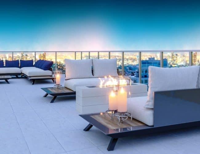 Bijou on Bloor - Rooftop Patio - Exterior Render