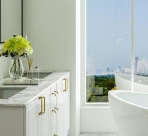 Bijou on Bloor - Suite Bathroom - Interior Render