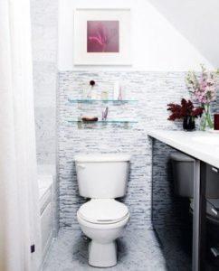 interior design tips for small condos. Bathroom interior design.