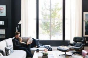 Interior design tips for condos. Design ideas for living area.