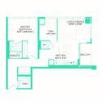 Rise at Lakeshore Condos - Rise 12 - Floorplan
