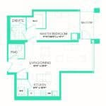 Rise at Lakeshore Condos - Rise 14 - Floorplan