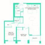 Rise at Lakeshore Condos - Rise 18 - Floorplan