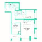 Rise at Lakeshore Condos - Rise 19 - Floorplan
