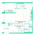 Rise at Lakeshore Condos - Rise 20 - Floorplan