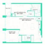 Rise at Lakeshore Condos - Rise 21 - Floorplan