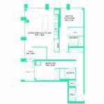 Rise at Lakeshore Condos - Rise 23 - Floorplan