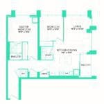 Rise at Lakeshore Condos - Rise 24 - Floorplan