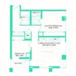 Rise at Lakeshore Condos - Rise 4 - Floorplan