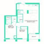Rise at Lakeshore Condos - Rise 5 - Floorplan