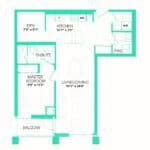 Rise at Lakeshore Condos - Rise 6 - Floorplan