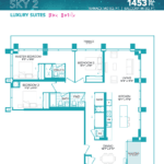 Rise at Lakeshore Condos - Sky 2 - Floorplan