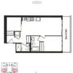 Exchange District Condos - Sydney - Floorplans