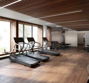 The ANX Condos - Gym - Interior Render