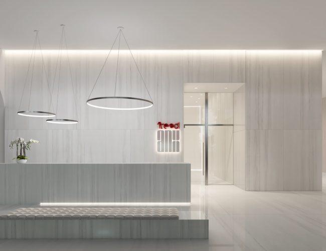 The ANX Condos - Lobby - Interior Render