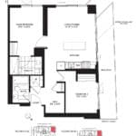 Wesley Tower at Daniels City Centre - The Wildgrass - Floorplans