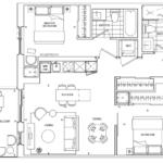 St. Clair Village Condos - Suite 412 - Floorplan