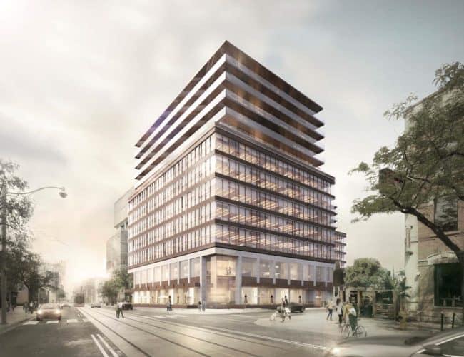 544 King Street West Condos - Street Level View -Exterior Render 2