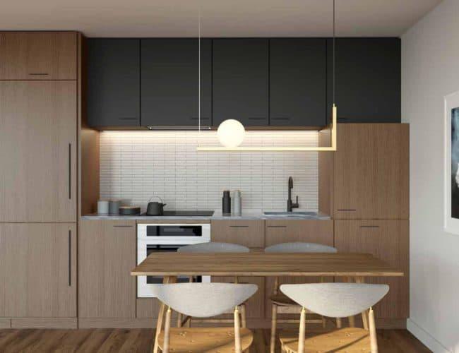 One Crosstown Condos - Suite - Interior Render