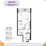 Reunion Crossing Condos - Suite 1CC - Floorplan