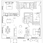 St. Clair Village Condos - Suite 508 - Floorplan