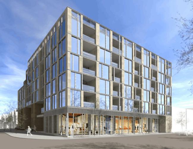 1200 Dundas Street West - Street Level View - Exterior Render