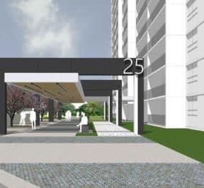 25 Mabelle Avenue - Exterior Render