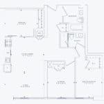 357 King Street West -  Model 09 Unit 809 - Floorplan