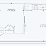 357 King West - Model 04/07 Unit 1007 - Floorplan