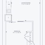 357 King West -  Model 01 Unit 3801 - Floorplan