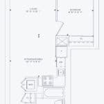 357 King West -  Model 02 Unit 1002 - Floorplan