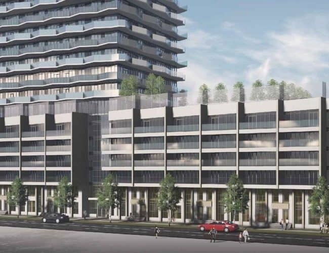 36 Zorra - Street Level View - Exterior Render