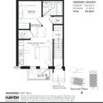 400 East Mall - Metro B - Floorplan