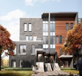 400 East Mall - Street Level - Exterior Render