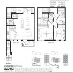 400 East Mall - Urban 2A - Floorplan