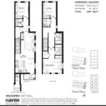 400 East Mall - Urban 3B - Floorplan