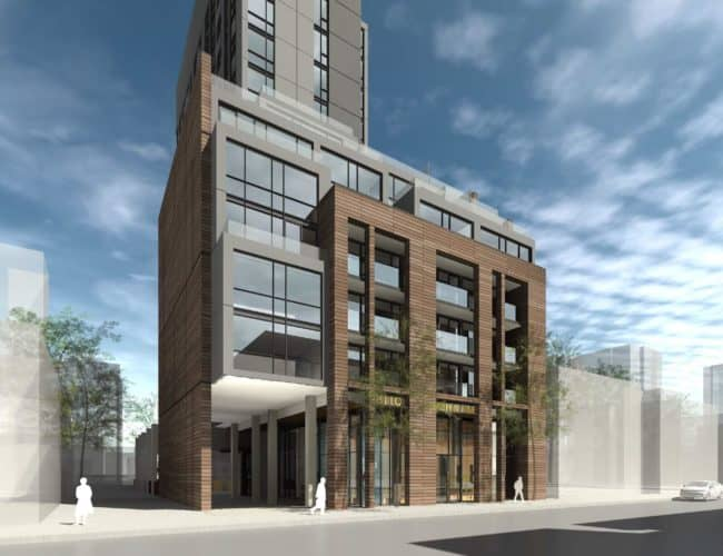 572 Church Street Condo - Street Level View - Exterior Render