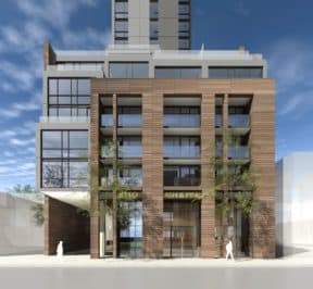 572 Church Street Condo - Street Level View - Exterior Render