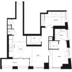 CG Tower - Blush - Floorplan