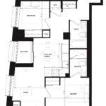 CG Tower - Indigo - Floorplan