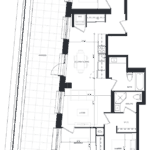 CG Tower - Ivory - Floorplan